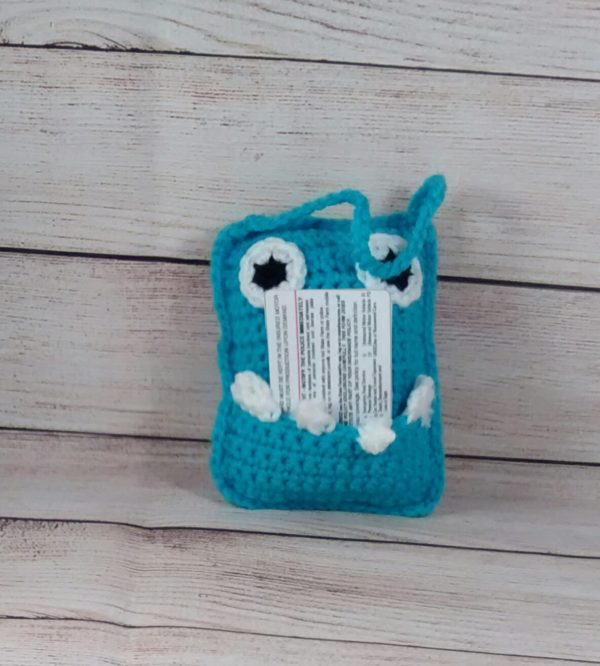 Blue-Monster Tooth-Fairy Pillow