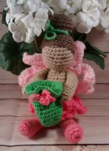 Tooth Fairy Doll Pink