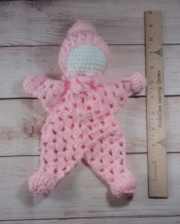 Cuddle Doll Pink Baby
