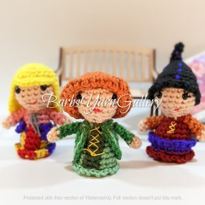 Three Witchy Sister Dolls